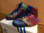 Новые Adidas JS Jeremy Scott Wings Rainbow